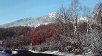 初冬の妙高山