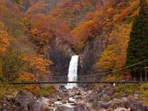 苗名滝 10月