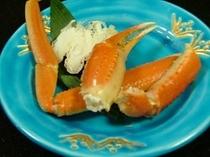 日本海のずわい蟹(オプション)