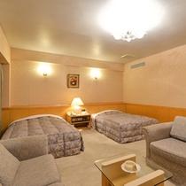 *デラックスツイン(客室一例)/カップルやご夫婦でのご宿泊に。特別なご旅行にピッタリ。