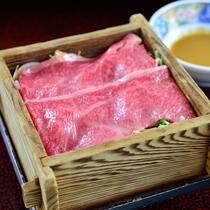 *夕食一例/お肉もお楽しみいただけます。