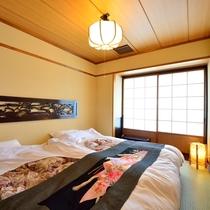 *客室一例/ベットタイプのお部屋もございます。