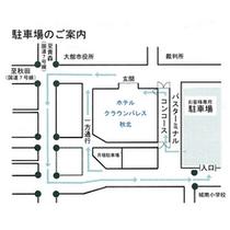 ■駐車場アクセスマップ