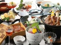 旬の会席料理(例)