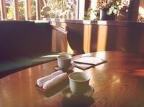 チェックインはゆず茶と共に…。