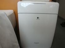 全部屋加湿空気清浄機 完備しております。