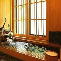 【貸切風呂/檜湯】カップルから家族連れのお客様に人気!