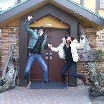 記念撮影♪見事な跳躍!!