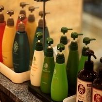 【本館風呂】選べる3種類のシャンプーが好評です♪