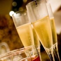 大切な人の記念日をシャンパンでお祝い・・・