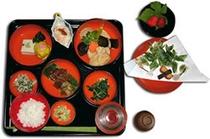夕食(精進てっぱつ料理)
