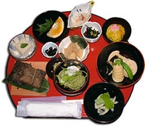 昼食(精進料理)