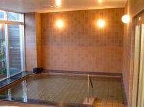 天然水使用の大浴場でゆったり♪