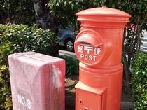 街の郵便ポスト