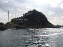 港から 仁右衛門島