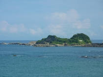 お部屋からの眺め仁右衛門島