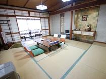 富士見屋本館 和室10畳(トイレ付き)のお部屋の一例