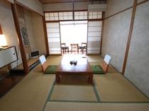 富士見屋本館 和室6畳のお部屋の一例