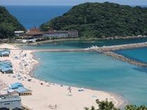 竹野浜ビーチの一例 富士見屋から車で約15分