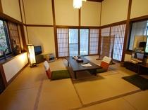 離れ山荘 珍竹林 和室10畳(トイレ付き)のお部屋「風」の一例