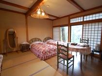 離れ山荘 珍竹林 洋室10畳(トイレ付き)のお部屋「花」の一例