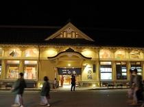 外湯のひとつ 一の湯。 歌舞伎座を思わせる建物で町の中央に位置し名実共に城崎温泉の象徴と言えます