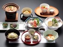 石屋の夕食(冬)