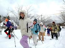 スノーピクニック1(白銀の世界をお散歩♪)