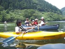 カヌー体験3(水面をスイスイ)