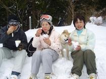 スノーピクニック3(ちょっと休憩)