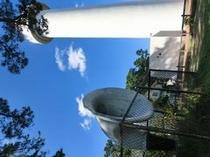 平舘灯台と霧笛