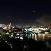 感動の声が続出の横浜港絶景
