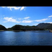 樋島の豊かな自然は、四季折々の素晴らしい表情を見せ、心を和ませてくれます。
