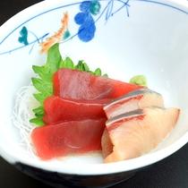 夕食スタンダード・リーズナブル-お刺身