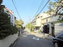 当宿の向かい側は横浜迎賓館「セントジェームズ様」です①