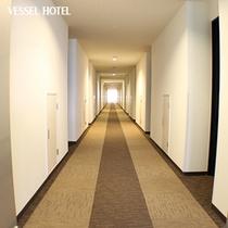 清潔感のある廊下☆