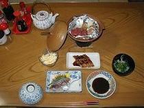夕食の例(ビジネスプラン)