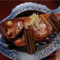 *金目鯛の煮付け(一例)