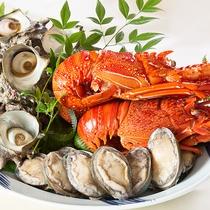 【BBQ】魚介もたっぷり&お肉もたっぷりのボリューム満点
