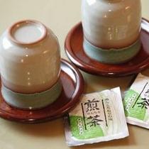 お茶セットを各お部屋にご用意しております。