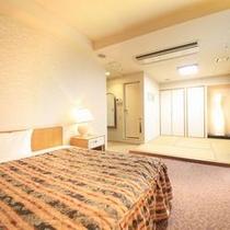 【ジュニアスイート「和洋室」】27平米(ベッド180×200)
