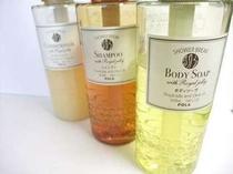 POLAのシャンプー・コンディショナー・ボディソープ☆★ 客室・温泉浴場に設置しております。