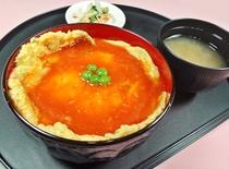 レストランひいらぎ☆十勝天津丼¥500(税込)
