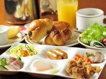 朝食バイキング盛り付け例☆洋食派さん☆