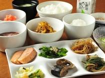 朝食バイキングメニュー盛り付け例☆和食派さん☆
