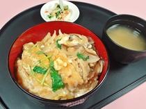 レストランひいらぎ☆十勝カツ丼¥500(税込)