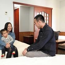◆ご家族旅行でもグループ旅行にもご利用下さい。