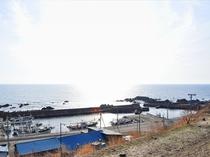【眺望】泊村盃漁港