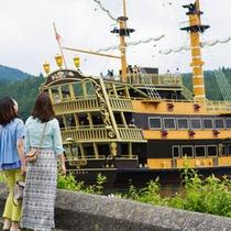 芦ノ湖「海賊船」(ホテルより車20分)