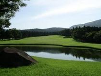 *箱根湖畔ゴルフコース